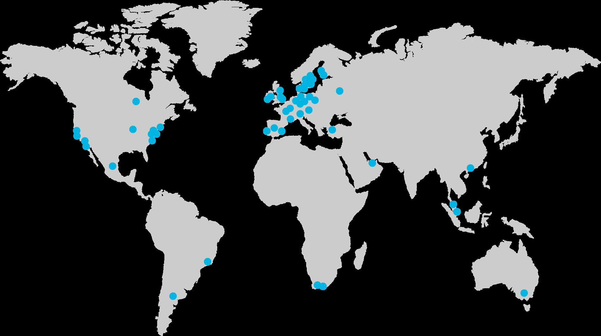 Unsere Kunden und Referenzen - in über 20 Sprachen weltweit